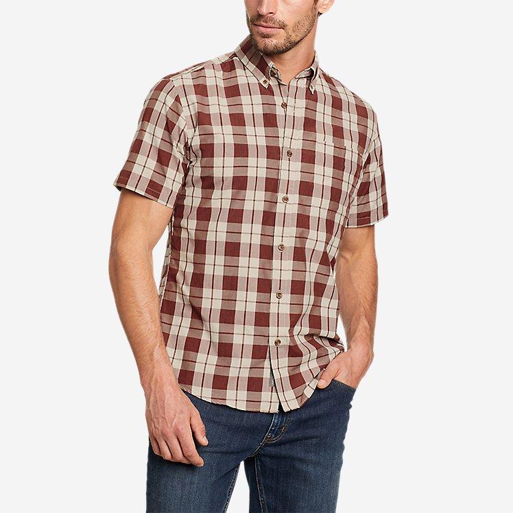 Men's On The Go Short-Sleeve Poplin Shirt large version
