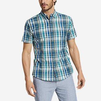 Thumbnail View 1 - Men's On The Go Short-Sleeve Poplin Shirt