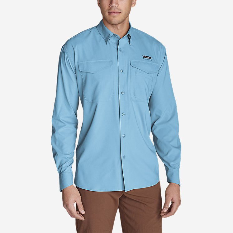 Men's Ahi Long-Sleeve Shirt large version