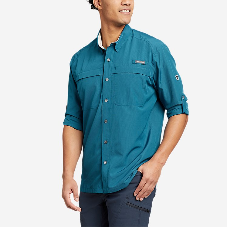 Men's Guide Long-Sleeve Shirt large version