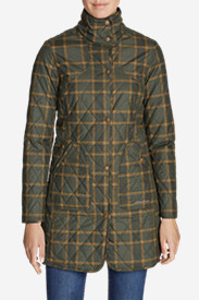 Women's Year-Round Field Coat - Plaid
