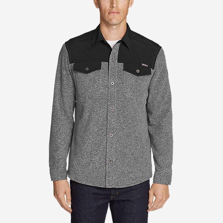 Men's Chutes Fleece Field Shirt large version