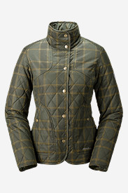 Women's Year-Round Field Jacket - Plaid