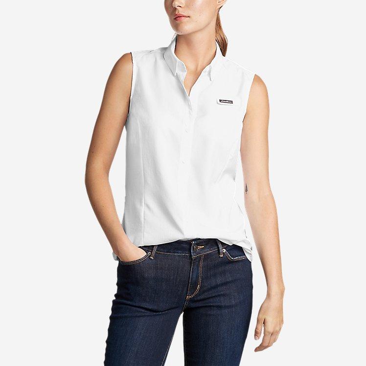 Women's Water Guide Sleeveless Shirt large version