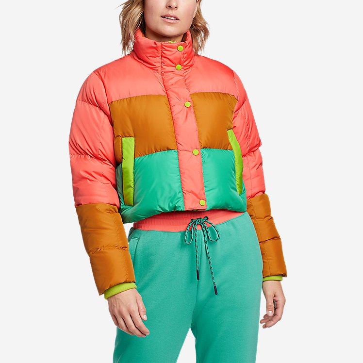 Women's Eddie Bauer x karla Cropped Puffer Jacket large version
