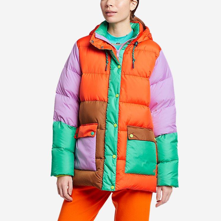 Women's Eddie Bauer x karla Hooded Puffer Jacket large version