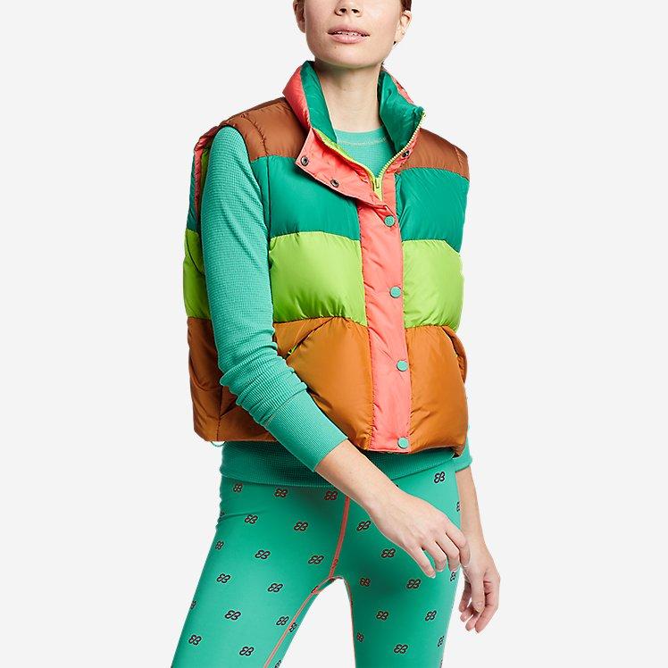 Women's Eddie Bauer x karla Cropped Puffer Vest large version