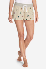 Women's Stine's Favorite Waffle Sleep Shorts - Pattern