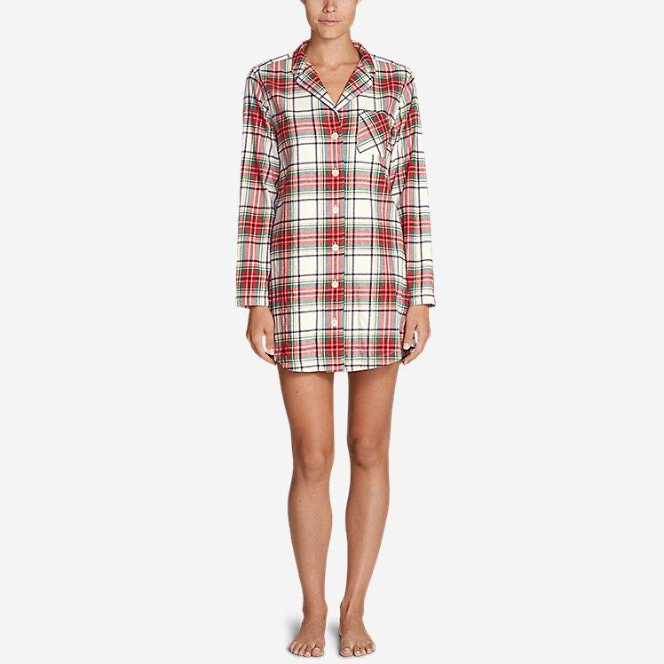 Women's Stine's Favorite Flannel Night Shirt large version