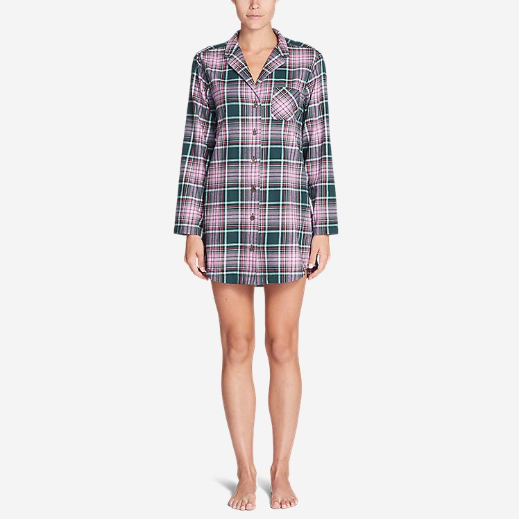 Women's Stine's Favorite Flannel Night Shirt large version