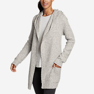 Thumbnail View 1 - Women's Hooded Sleep Cardigan