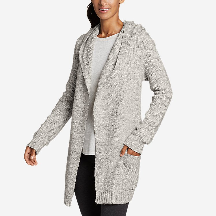 Women's Hooded Sleep Cardigan large version