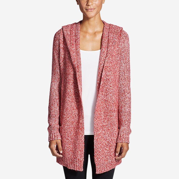 Women's Hooded Sleep Cardigan large version