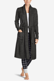 Women's Long Sleep Cardigan - Solid