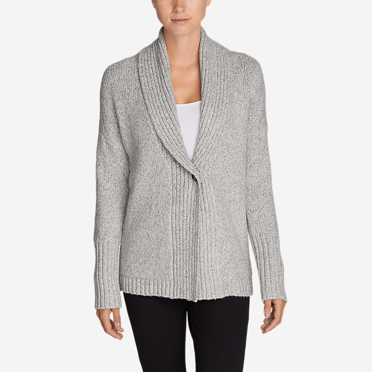 Women's One-Button Sleep Cardigan large version