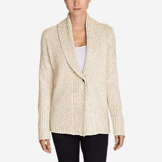Thumbnail View 1 - Women's One-Button Sleep Cardigan