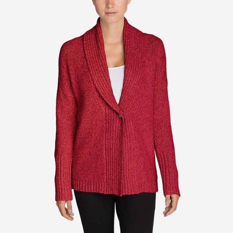 Women's One-Button Sleep Cardigan large version