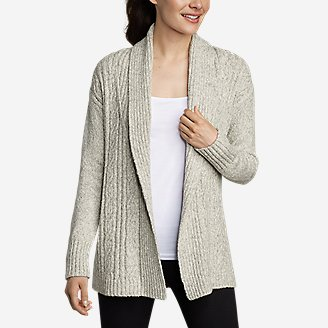 Thumbnail View 1 - Women's Cable Sleep Cardigan