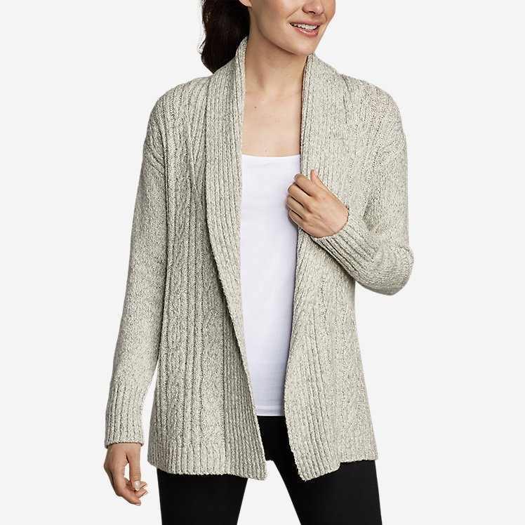 Women's Cable Sleep Cardigan large version