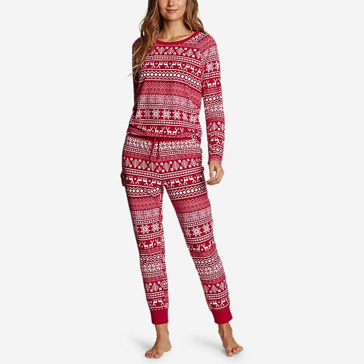 Women's Fleece Sleep Set large version