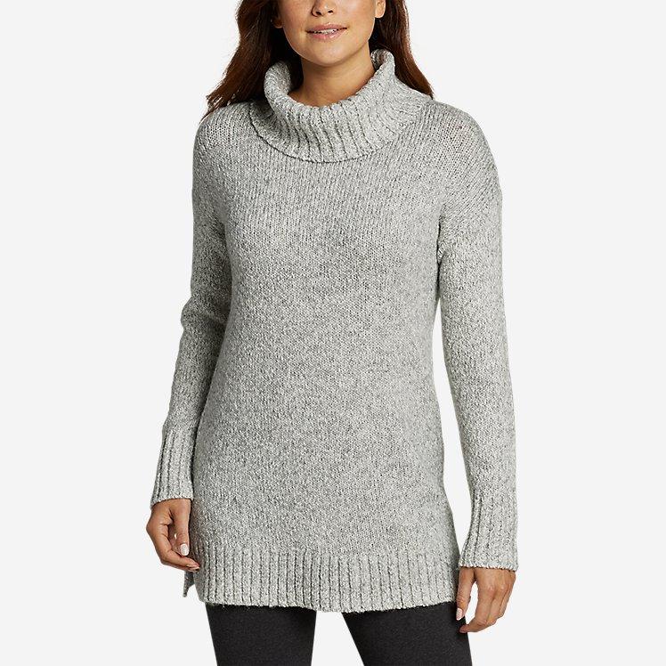 Women's Turtleneck Sleep Sweater large version