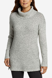 Women's Turtleneck Sleep Sweater