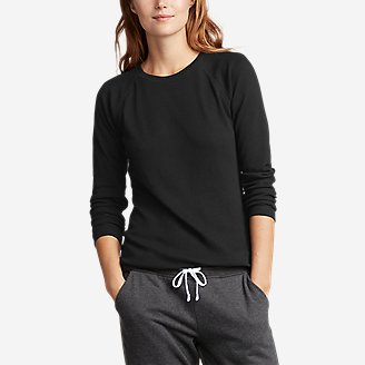 Thumbnail View 1 - Women's Stine's Favorite Thermal Crew - Solid