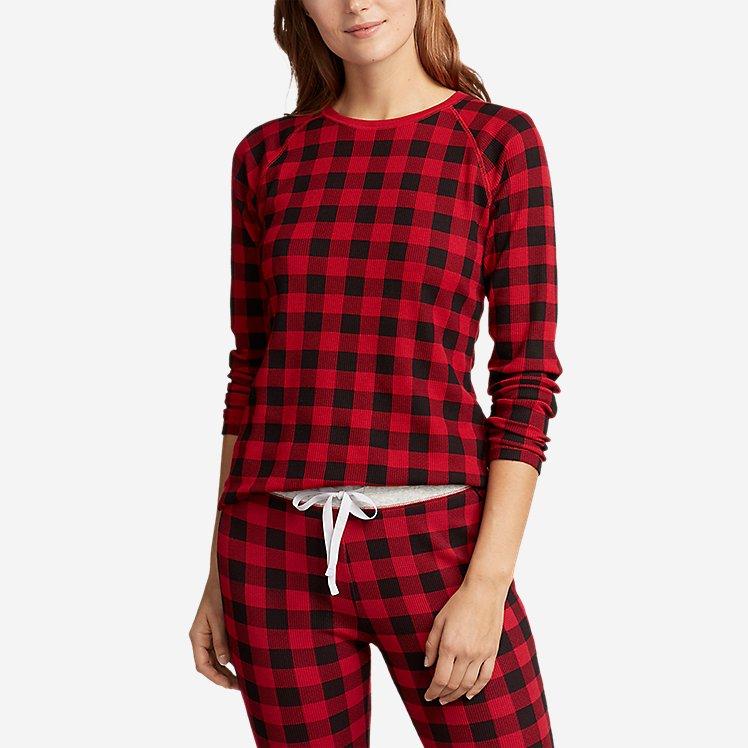 Women's Stine's Favorite Waffle Sleep Shirt large version