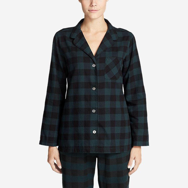 Women's Stine's Favorite Flannel Sleep Shirt large version
