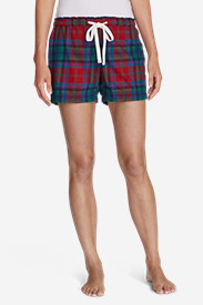 Women's Flannel Sleep Shorts