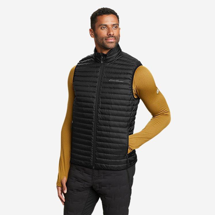 Men's Microlight Down Vest large version