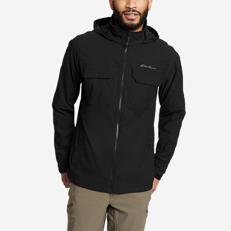 Men's Travel Stretch Soft Shell Jacket large version