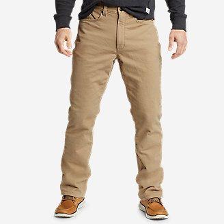 Thumbnail View 1 - Men's Fleece-Lined Flex Mountain Jeans