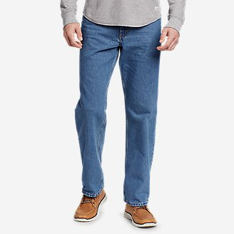 Thumbnail View 1 - Men's Essential Jeans - Relaxed