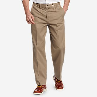 Thumbnail View 1 - Men's Performance Chinos - Flat Front