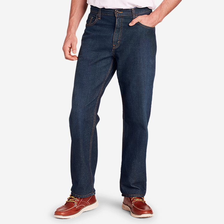 Men's Authentic Jeans - Relaxed large version