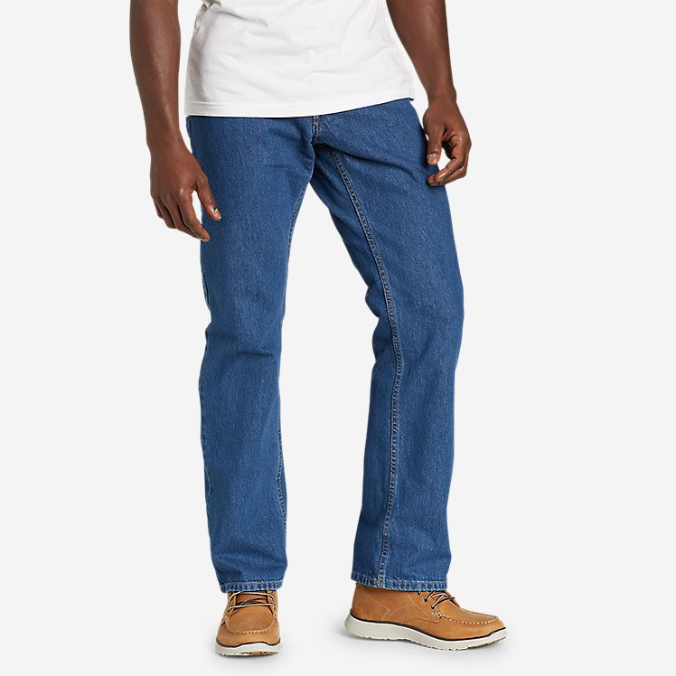 Men's Essential Jeans - Straight large version