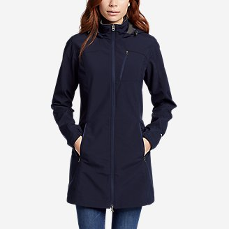 Thumbnail View 1 - Women's Rocky Pass Trench Coat