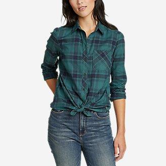 Thumbnail View 1 - Women's Twin Falls Flannel Shirt