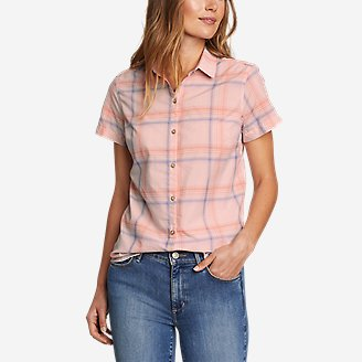 Thumbnail View 1 - Women's Etesian Short-Sleeve Shirt