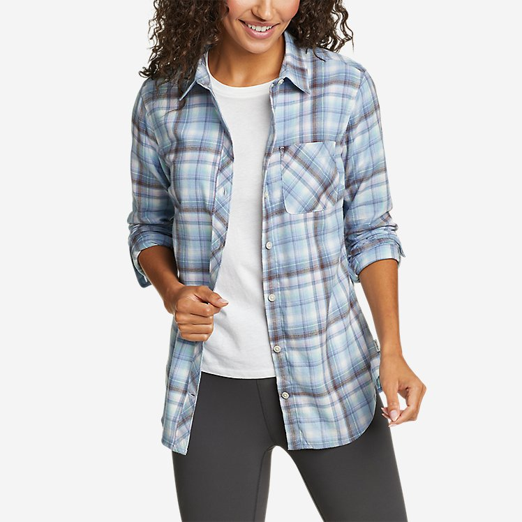 Women's Forest Flannel Shirt large version