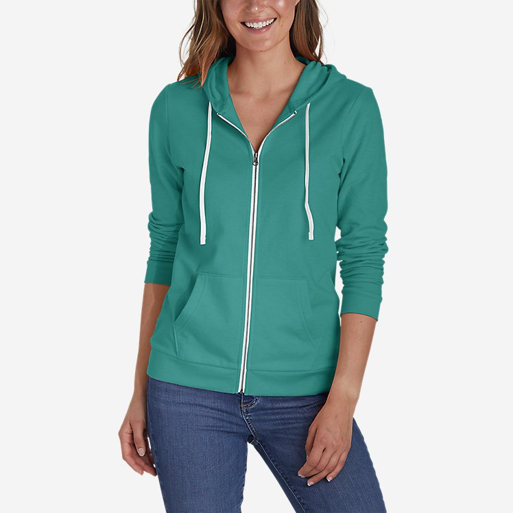 Women's Camp Fleece Full-Zip Hoodie large version
