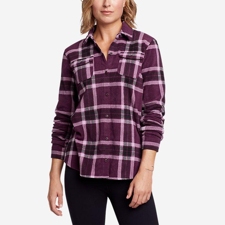Women's Fast Fleece Shirt large version