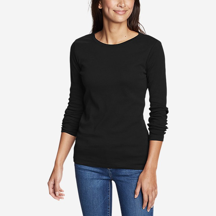 Women's Stine's Long-Sleeve Crew T-Shirt large version