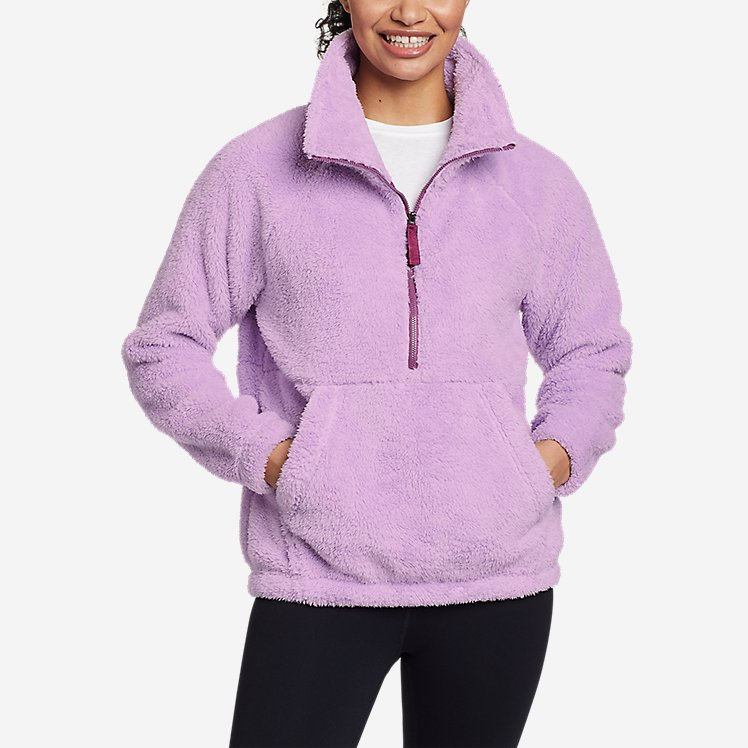 Women's Fast Fleece Plush Anorak large version
