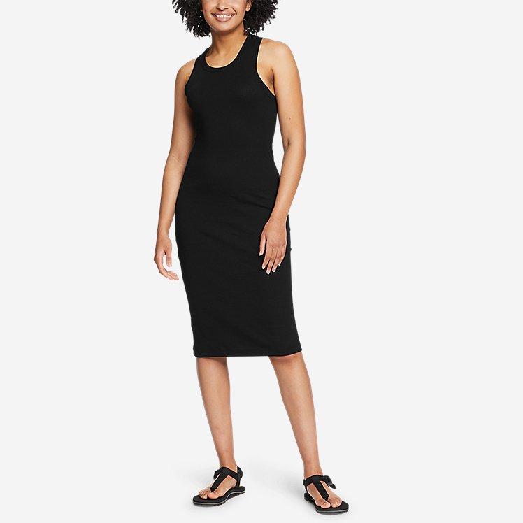 Women's Coast and Climb Rib-Knit Sleeveless Dress - Solid large version