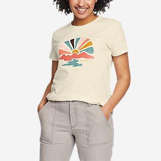 Thumbnail View 1 - Women's Graphic T-Shirt - Sunbeam