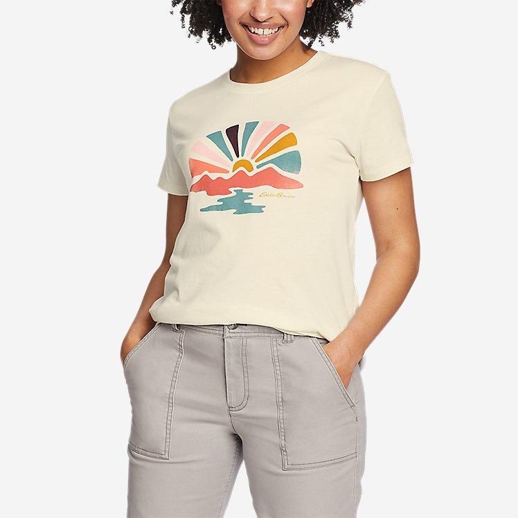 Women's Graphic T-Shirt - Sunbeam large version