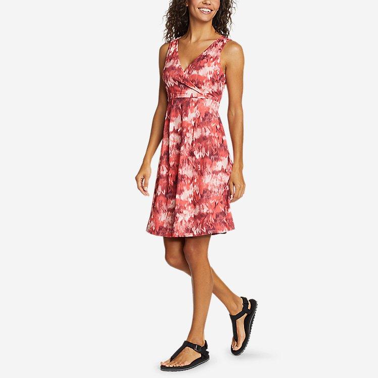 Women's Sleeveless Crossover Dress large version