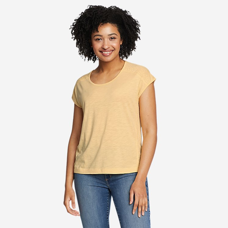 Women's Concourse Embroidered Short-Sleeve T-Shirt large version